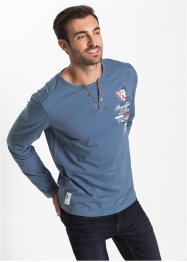 T-shirt manches longues Regular Fit, bpc selection