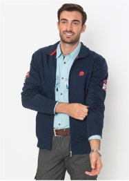 Gilet sweat col montant Regular Fit, bpc selection