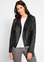 Veste en synthétique imitation cuir, bpc bonprix collection