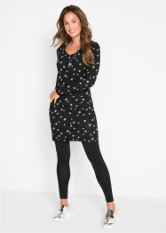 Robe avec col en V, bpc bonprix collection