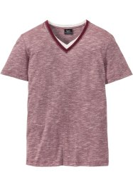 T-shirt col V style double épaisseur Regular Fit, bpc bonprix collection