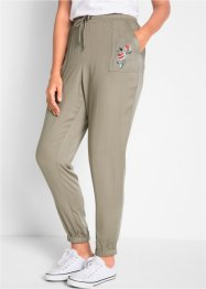 Pantalon avec broderie - designed by Maite Kelly, bpc bonprix collection