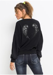 Sweat-shirt avec ailes au dos, RAINBOW