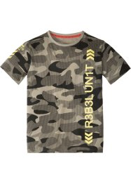 T-shirt à imprimé camouflage, bpc bonprix collection