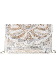 Pochette brodée de perles, bpc bonprix collection