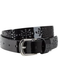 Ceinture vernie avec perforations, bpc bonprix collection