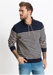 Sweat-shirt col châle Slim Fit, RAINBOW