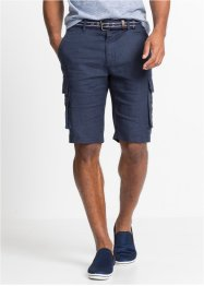 Bermuda en lin Loose Fit, bpc bonprix collection