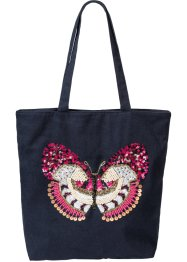 Sac cabas Papillon, bpc bonprix collection