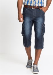Jean 3/4 avec poches cargo Regular Fit, John Baner JEANSWEAR