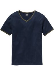 T-shirt col en V Slim Fit, bpc bonprix collection