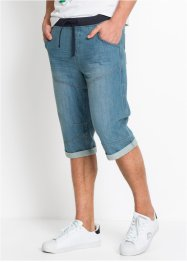 Bermuda long en jean Loose Fit, RAINBOW