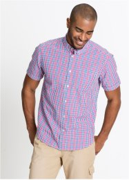 Chemise manches courtes seersucker Regular Fit, bpc bonprix collection