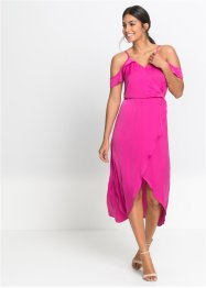 Robe longue en satin, BODYFLIRT