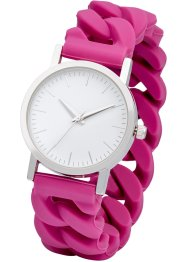 Montre à bracelet en silicone, bpc bonprix collection