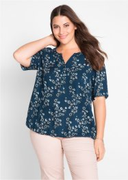 Blouse-tunique, mi-manches, bpc bonprix collection