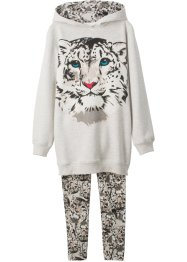 Sweat-shirt + legging fille (Ens. 2 pces.), bpc bonprix collection