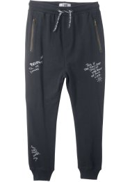 Pantalon sweat avec zips, bpc bonprix collection