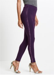 Legging avec bandes en velours, bpc selection