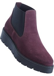 Boots Chelsea en cuir, bpc bonprix collection