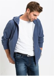 Gilet sweat-shirt à capuche en piqué Regular Fit, bpc bonprix collection