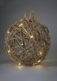 Boule LED avec paillettes, bpc living
