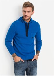 Pull col châle Slim Fit, RAINBOW