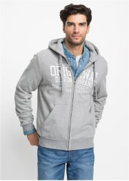 Gilet sweat-shirt à capuche Regular Fit, John Baner JEANSWEAR