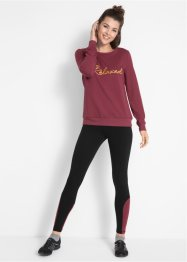 Ensemble sweat-shirt avec legging, bpc bonprix collection