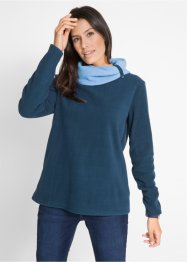 Sweat-shirt polaire, manches longues, bpc bonprix collection