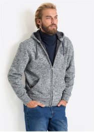Gilet sweat avec fourrure peluche Regular Fit, bpc bonprix collection