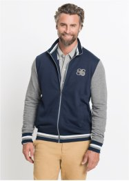 Gilet sweat-shirt Slim Fit, bpc selection