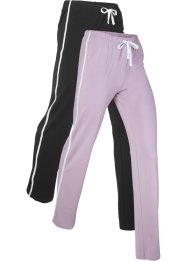 Lot de 2 pantalons de jogging, bpc bonprix collection