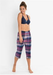 Lot de 2 pantalons de pyjama corsaire, bpc bonprix collection
