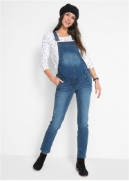 Salopette en jean de grossesse, Straight, bpc bonprix collection