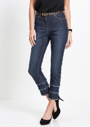 Jean extensible 7/8 avec franges, bpc selection