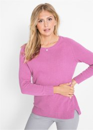 Pull en maille, coton recyclé, bpc bonprix collection