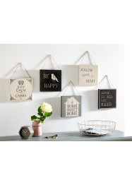 Set de tableaux Vintage (Ens. 5 pces.), bpc living bonprix collection