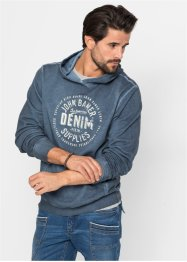 Sweat-shirt à capuche Regular Fit, John Baner JEANSWEAR