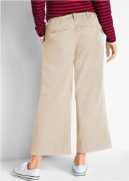 Pantalon extensible 7/8, Loose Fit, bpc bonprix collection