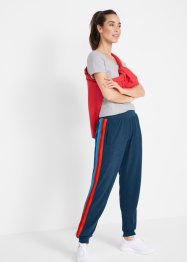 Pantalon sweat léger avec galon multicolore, niveau 1, bpc bonprix collection