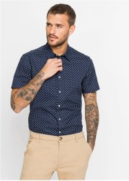 Chemise manches courtes à imprimé all-over Slim Fit, RAINBOW