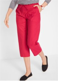 Pantalon en lin 3/4, bpc bonprix collection