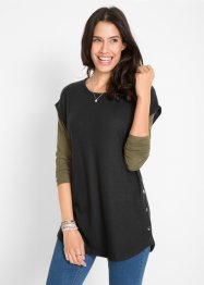 Pull chasuble en jersey, bpc bonprix collection