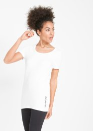 Lot de 2 T-shirts longs, manches courtes, bpc bonprix collection