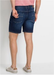 Short long en jean power-stretch Slim Fit, John Baner JEANSWEAR
