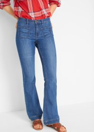 Jean confort-stretch pattes d'eph, SLIM, John Baner JEANSWEAR