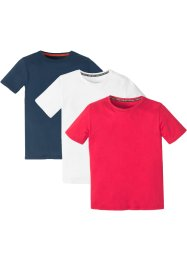 Lot de 3 T-shirts basiques, bpc bonprix collection