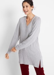 Pull avec zip, bpc bonprix collection