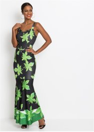 Robe longue à imprimé tropical, BODYFLIRT boutique